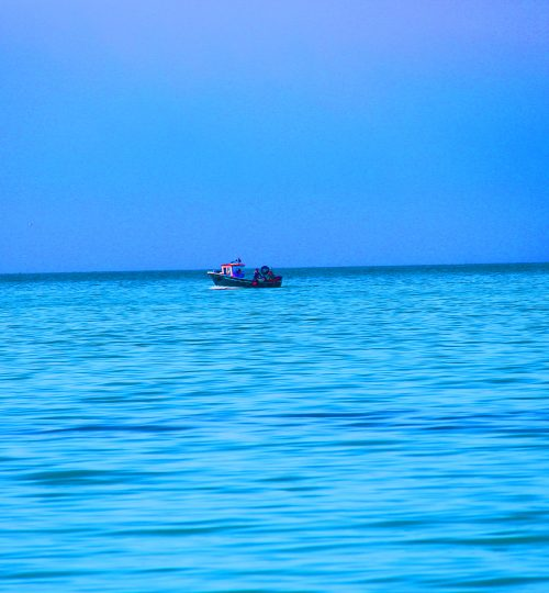 fishing boat saturated